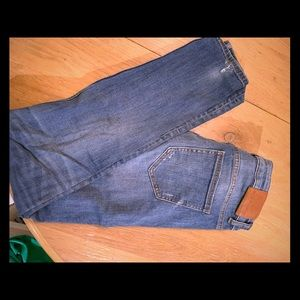 Zara denim distressed wash size 28